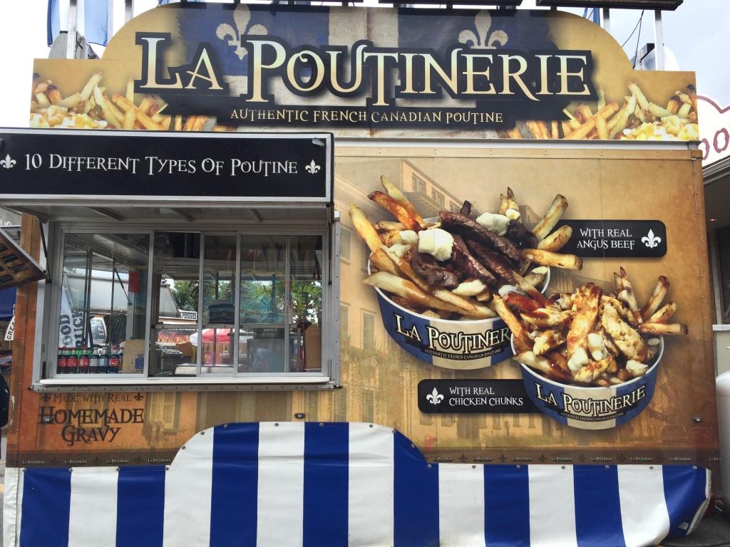 La Poutinerie with Quebecois poutine.