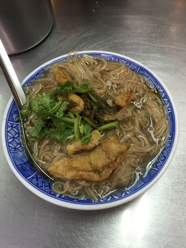 Oyster thin noodles (vermicelli).