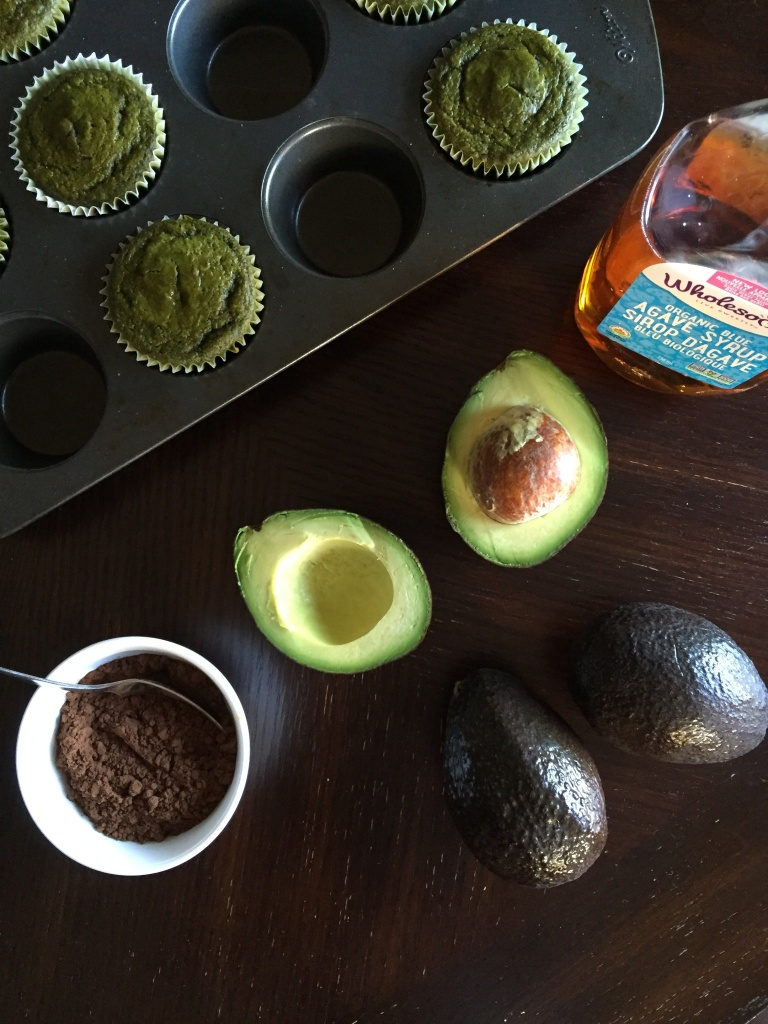 Vegan Matcha Cupcakes with Chocolate Avocado Frosting Recipe ...