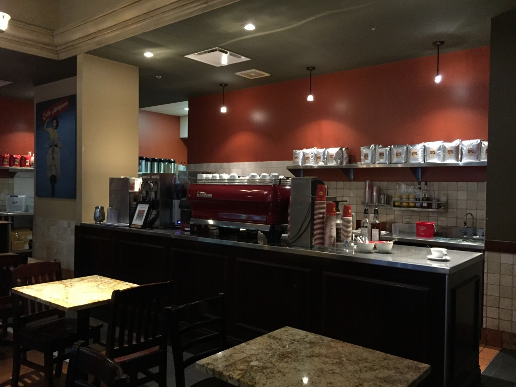 Espresso machines at Artigiano.