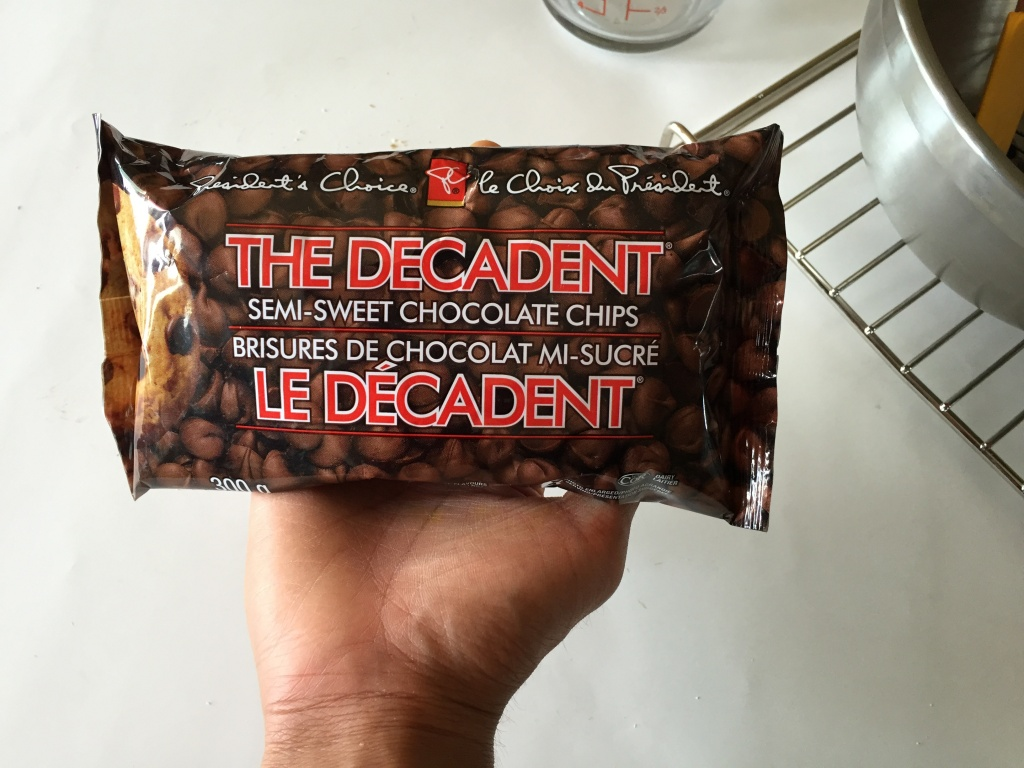 "PC ""The Decadent"" Chocolate Chips."