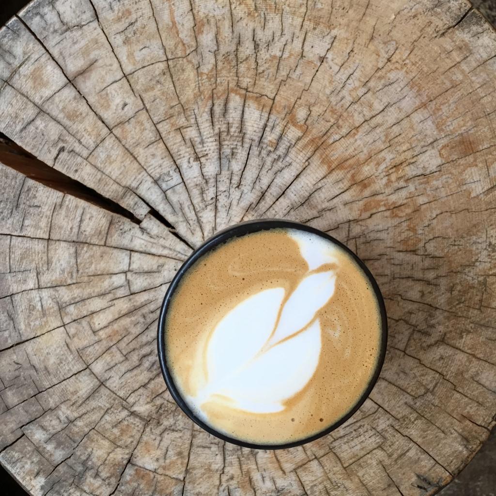 Almond-cashew latte.