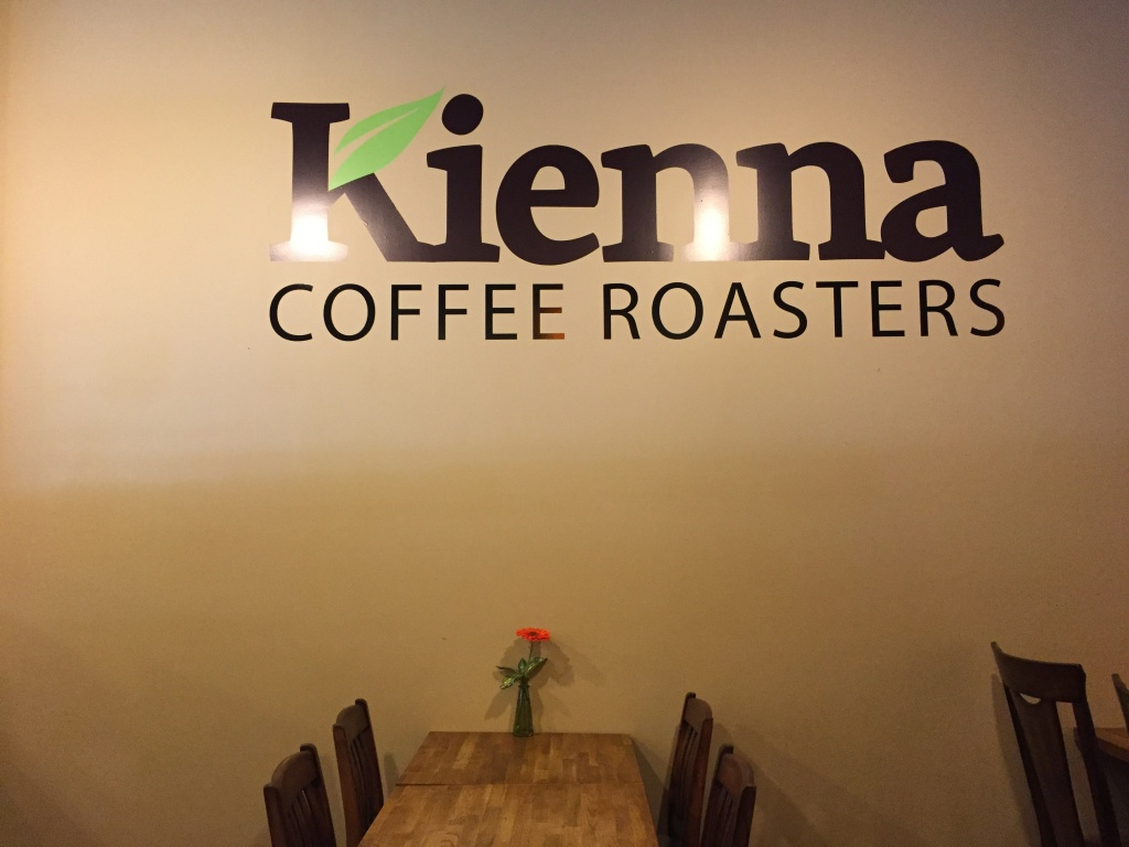 Kienna Coffee Roasters.