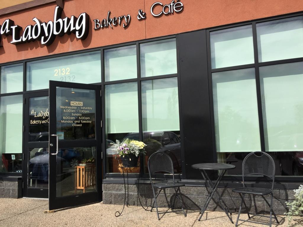 A Ladybug Bakery and Cafe.