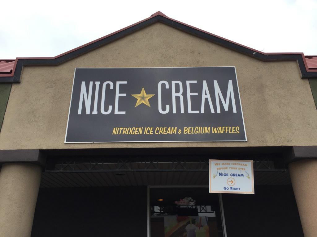 Nitrogen Ice Cream at Nice Cream.