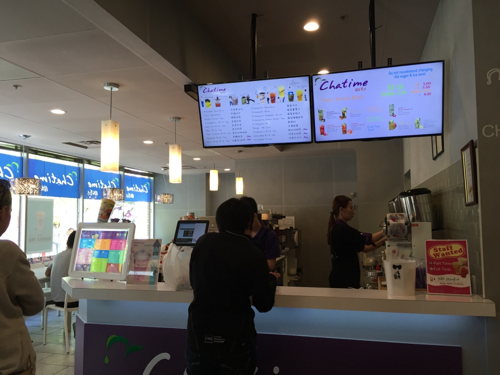 Chatime in Chinatown Calgary