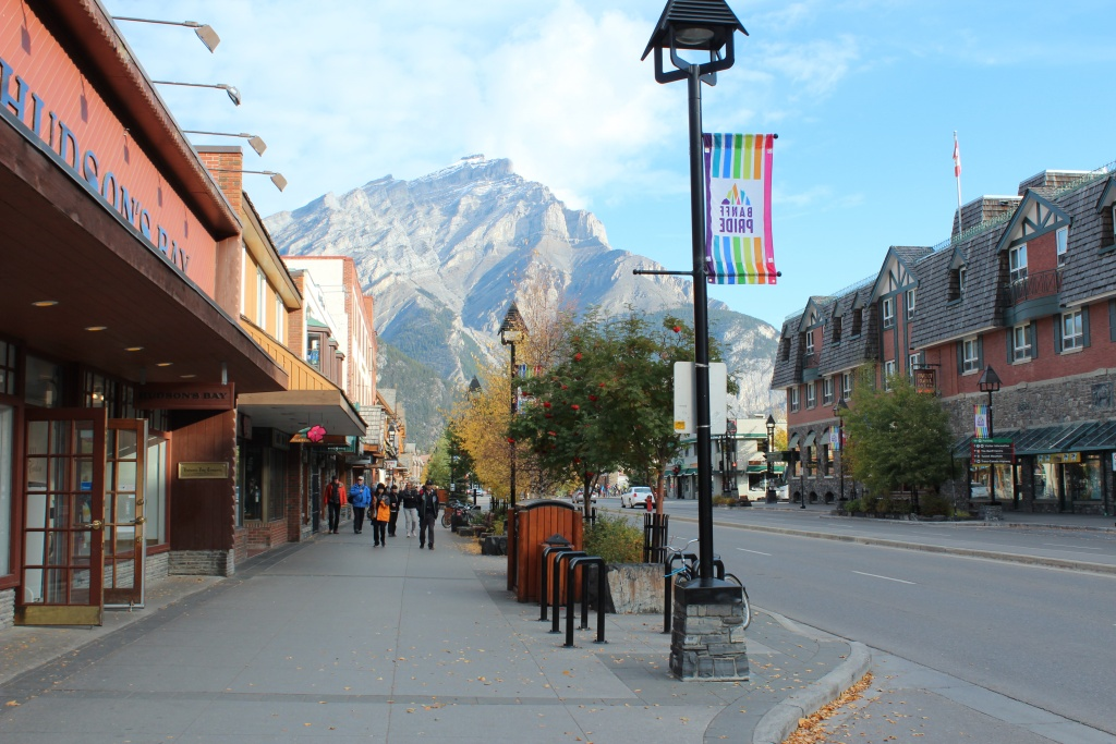 Beautiful Downtown Banff.