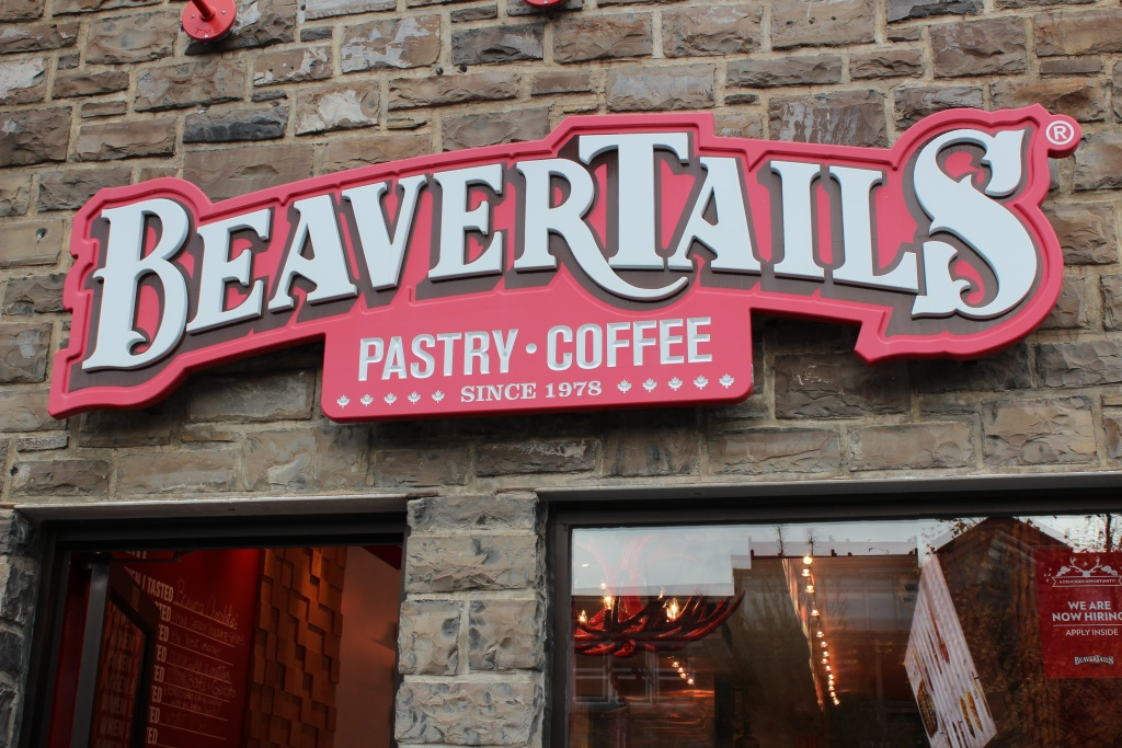 Beavertails is a staple in Banff.