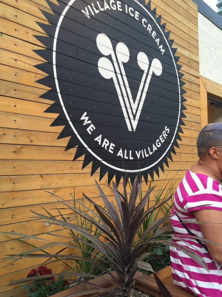 "Village Ice Cream: ""We are all villagers."""