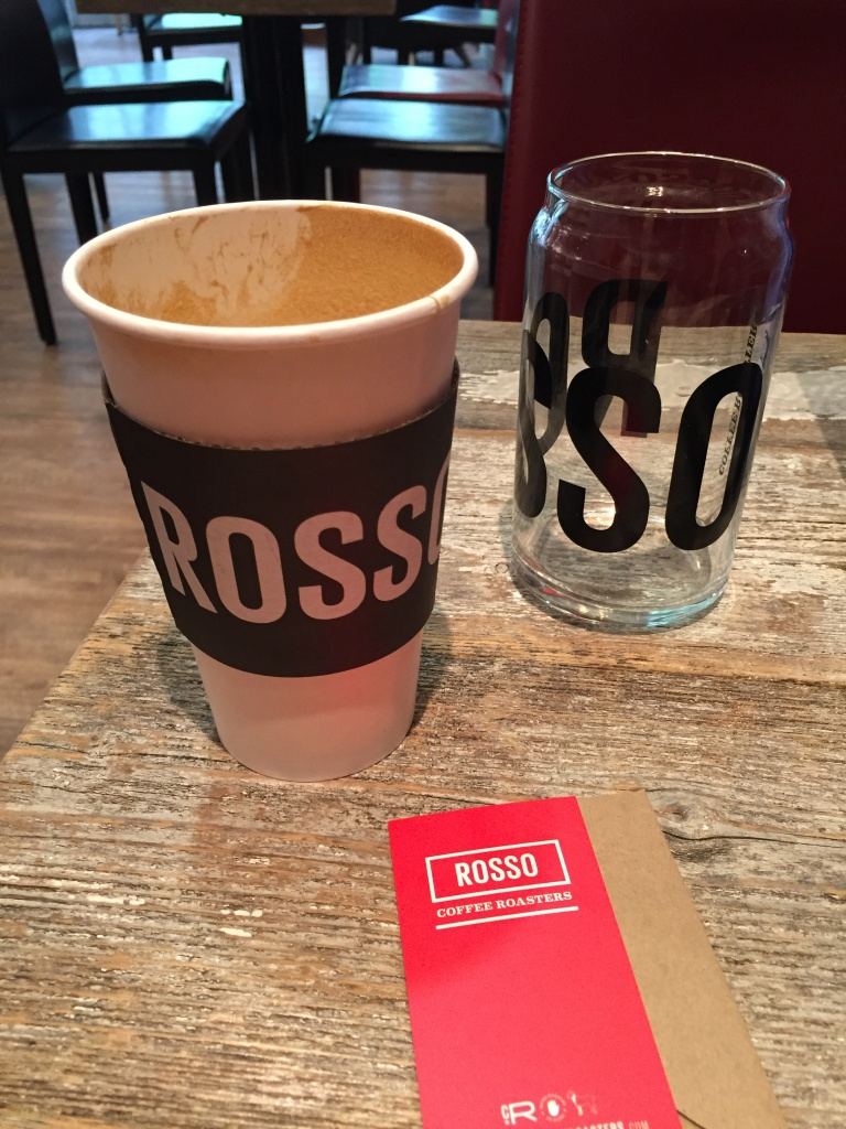 Rosso Coffee Roasters.