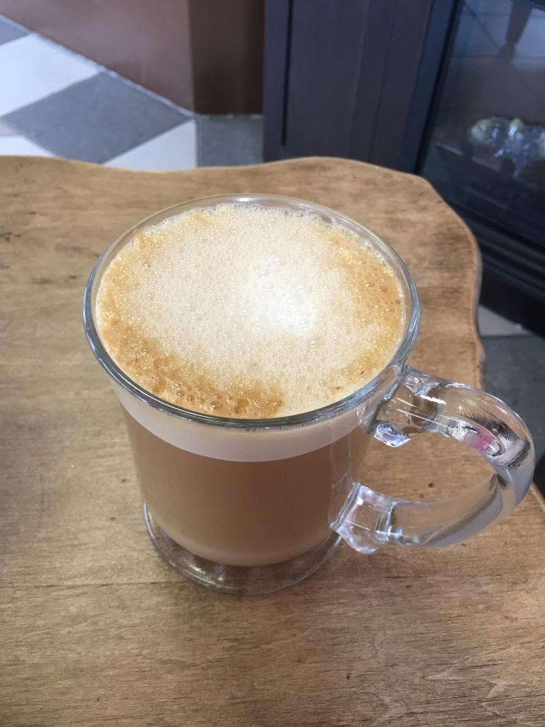 Soy latte!