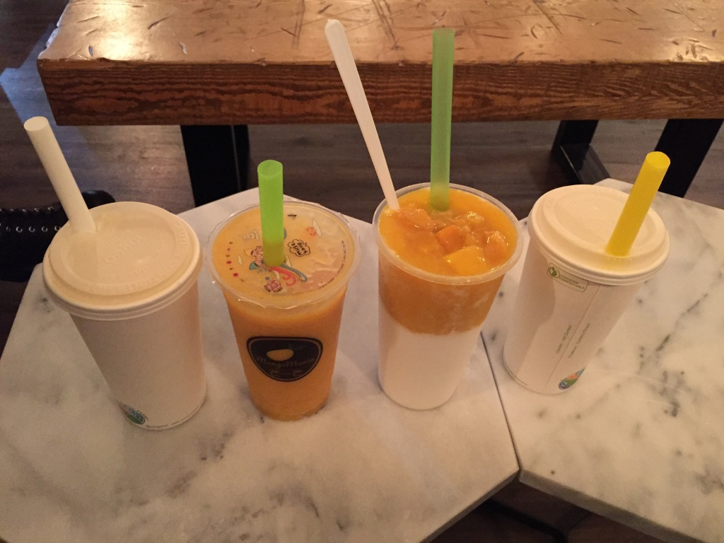 Mango Mania signature drinks!
