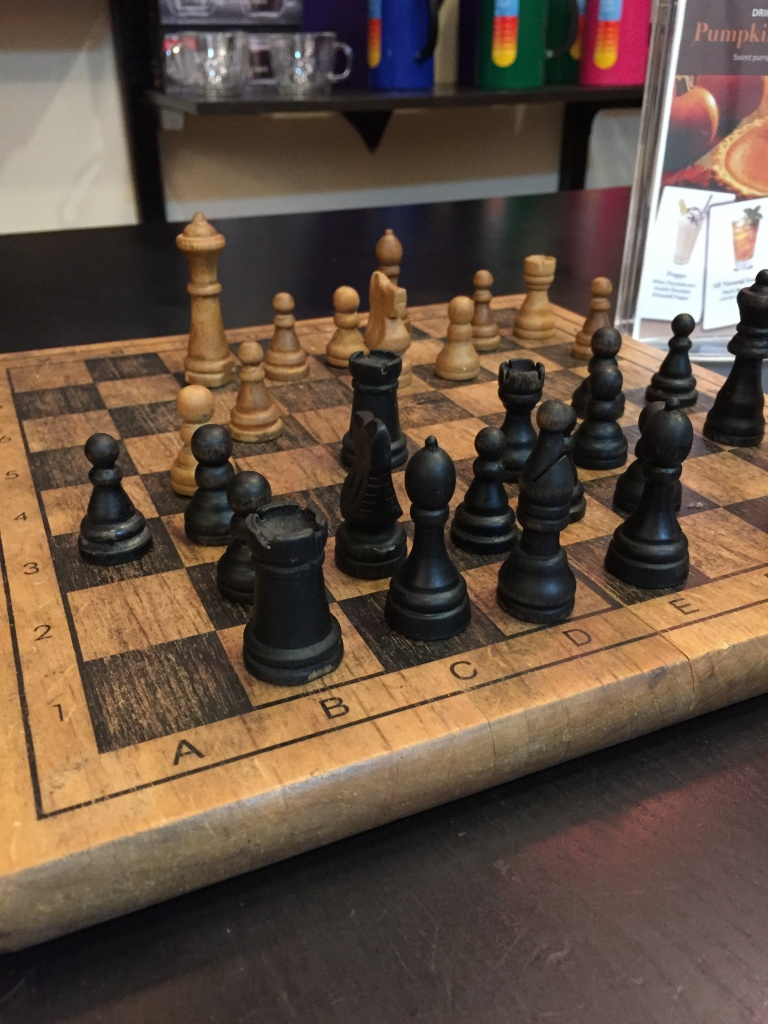 If you want to play games, they have chess and other boardgames.