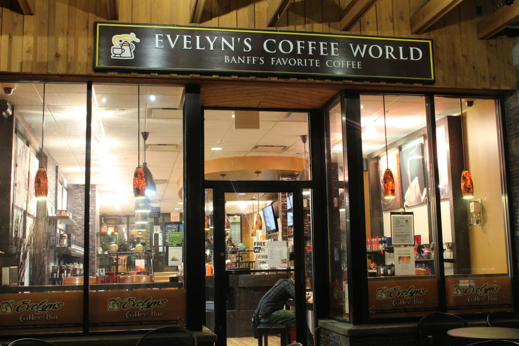 Evelyn's Coffee Bar.