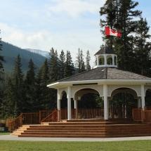 Beautiful day in Banff.