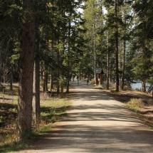 Hiking trail entrance