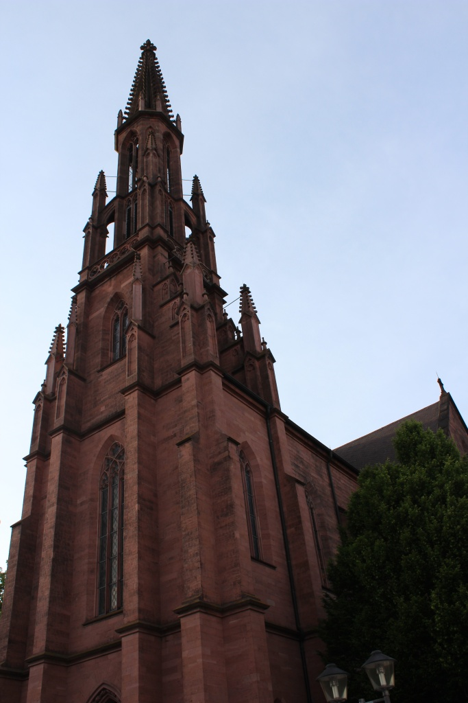 Churches and cathedrals are abundant in Germany.